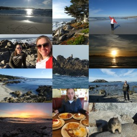 Collage 17 mile drive