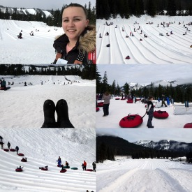 Collage 21 Snowtubing