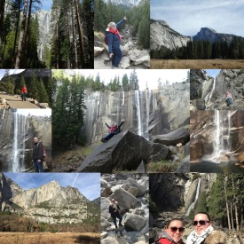Collage Yosemite